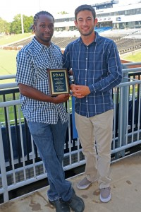 Allen Lincoln and Evan Lebish with SOAR Excellence Award
