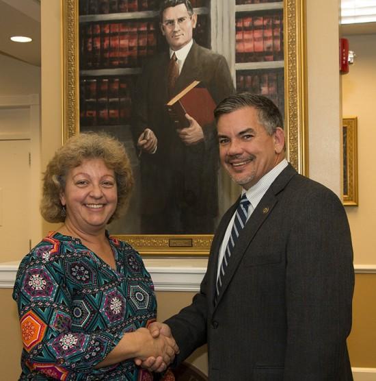 Lori Mayes and Steve Burrell